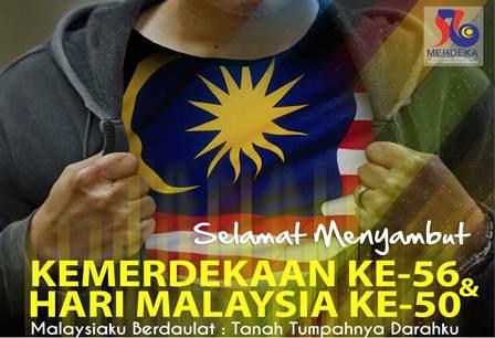 hari merdeka dan hari malaysia
