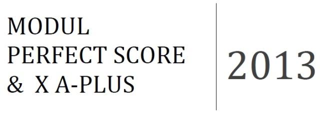 PerfectScore2013